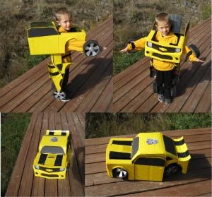 Logan-as-Bumblebee